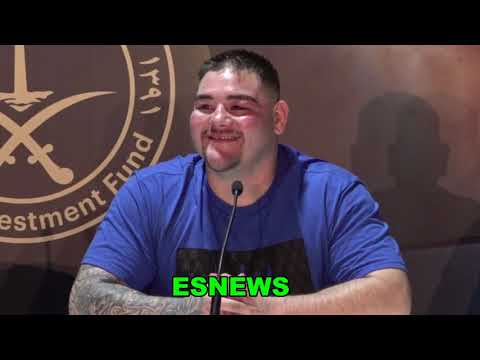 Andy Ruiz Candid About Loss To Joshua And Problems In Training EsNews Boxing