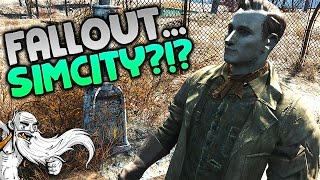 """SIM CITY...IN FALLOUT 4?!?"" - Fallout 4 Sim Settlements Mod Gameplay Let"