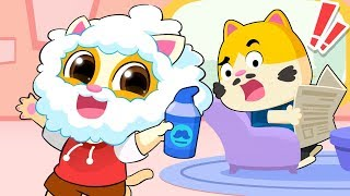 Naughty Baby Kitten | Learn Colors | Play Safe | Doctor Cartoon | Kids Songs | Kids Cartoon |BabyBus