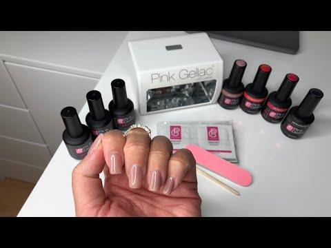 Pink Gellac Gel Nagellack 14 Tage Halt in 3 Schritten I DEMO + VERLOSUNG I Marina Si