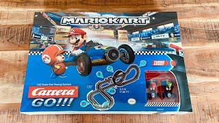 Carrera Go Mario Kart Test & Unboxing Kinder Carrerabahn Slotcar Rennbahn