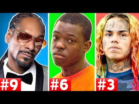 10 Rappers That Are Facing Life In Prison (Tekashi 6ix9ine, Snoop Dogg, Bobby Shmurda)