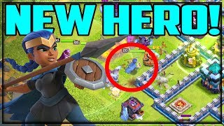NEW HERO! Royal Champion! Clash of Clans UPDATE - Town Hall 13
