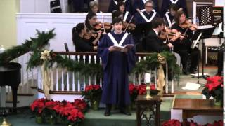 "Handel Messiah,  ""Thus Saith The Lord"", Mark Benz, Bass"
