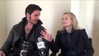 Once Upon A Time Set Interview: Colin ODonaghue And Jennifer Morrison