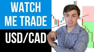 LIVE Forex Trading USD/CAD: Watch the Trade Start to Finish! 💰📈