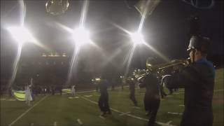 FMHS Marching Band (Trumpet Cam) - Valley Bands 2016