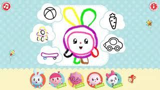 Малышарики игры для детей онлайн бесплатно Учимся рисовать