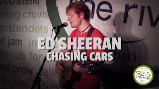 "Ed Sheeran performs ""Chasing Cars' (Snow Patrol Cover)"