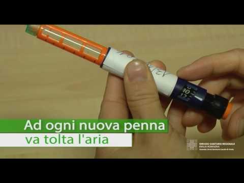 Trattamento del diabete di laringiti