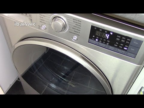LG F4J7TN8S 8Kg Direct Drive Washing Machine Demonstration & Review