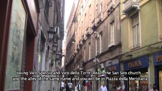 preview picture of video 'Guida di Genova, percorso 2: Centro Storico'