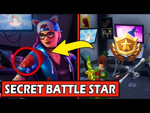 Secret Week 2 Battle Star Location Loading Screen Fornite Hidden