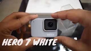 gopro hero 7 white unboxing hindi - TH-Clip