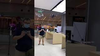 Dji FPV test fly indoor