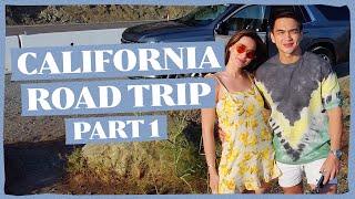 CALIFORNIA ROAD TRIP PART 1 (USA TRAVEL VLOG)   Bea Alonzo