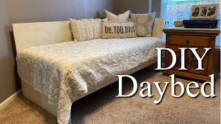 Make a Daybed Using Plywood and Basic Tools | Easy Woodworking Project