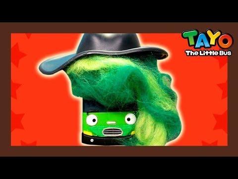Tayo Helden l Tayo spielzeug für kinder l #4 Schädel-Cowboy! l Tayo Der Kleine Bus