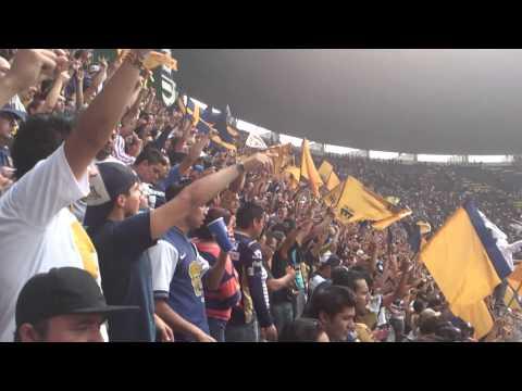 """""""La banda del pebetero y goyazo"""" Barra: La Rebel • Club: Pumas"""