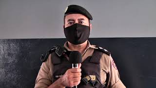 Rapaz vai parar na delegacia de polícia por direção perigosa em Patos de Minas