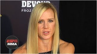 Holly Holm bothered by criticism of Jackson Wink MMA | UFC 239 | ESPN MMA