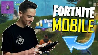 FAST MOBILE BUILDER on iOS / 665+ Wins / Fortnite Mobile + Tips & Tricks!