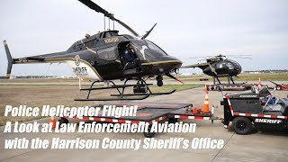 Police Helicopter Ride Along - Law Enforcement Aviation