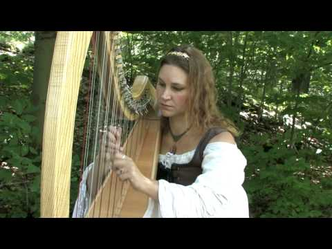 Kathleen Finnegan the Harpist NY Ren Faire (HD) part 2