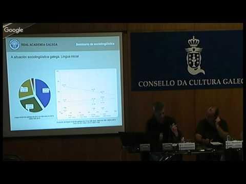 Inauguración. O comportamento lingüístico da mocidade galega