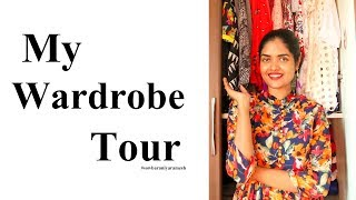 My Wardrobe Tour  2018 || #100dayswithsowbii DAY28