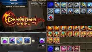 Drakensang Online #461: Platinum Items Crafting and Green HP Gem Crafting