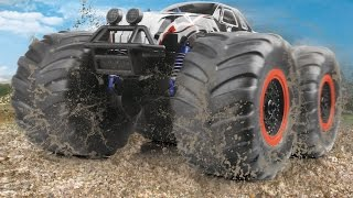 preview picture of video 'big wheel toyabi rc monster truck'