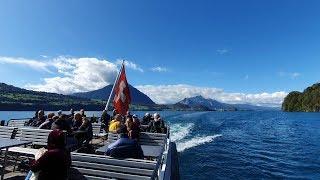 アルプスを望みながらトゥーン湖で優雅なランチクルーズはいかが?【スイス情報.com】