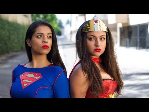 Wonder Woman vs. Superwoman | Inanna Sarkis & Lilly