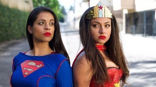 "WONDER WOMAN VS. SUPERWOMAN (ep. 3) | Inanna Sarkis & Lilly ""IISuperwomanII"" Singh"