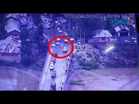 Baramulla grenade blast caught on CCTV footage