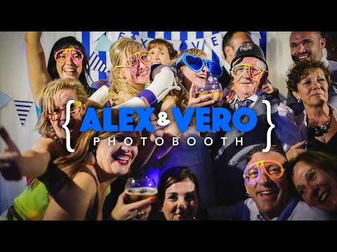 Photobooth Alex y Vero