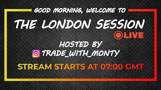 LIVE Forex Trading - LONDON, Thur, Aug, 6th  (Free Education)