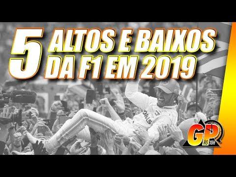 Os 5 melhores e os 5 piores momentos da F1 2019 (até aqui) | GP às 10