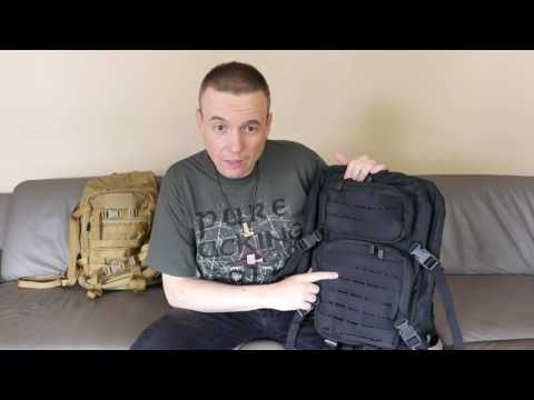 Rucksack: Brandit US Cooper 2 Lasercut & MilTec MFH US Assault Pack 2 | Taschen Daybag Backpack Bag
