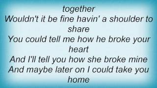 Barry Manilow - Lonely Together Lyrics