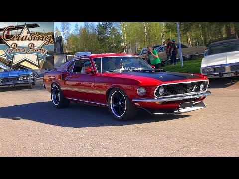 Cruising Pre-Party 5/2016 - Even More American Muscle Now!