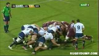 preview picture of video 'Rugby in France 2012 2013 round 07 Agen Bordeaux Fight'