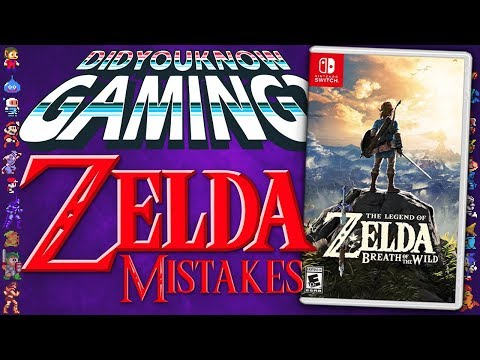 Mistakes in Zelda Games - Did You Know Gaming? Feat. Lady Pelvic