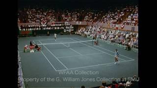Highlights From Arthur Ashe Vs John Newcombe At The Rawlings Tennis Classic - May 1971
