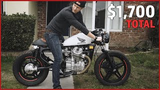 I Built this Motorcycle using only AMAZON and EBAY Parts...How's it Holding Up?