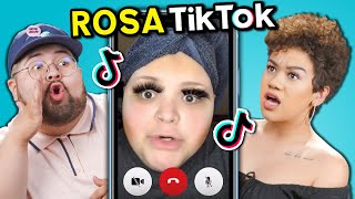 College Kids React To Rosa - TikTok Star @AdamRayOkay