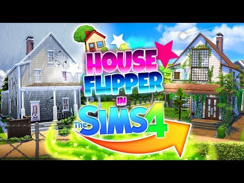 HOUSE FLIPPER CHALLENGE IN SIMS 4?!