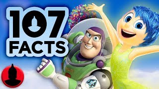 107 Facts About PIXAR!!   Disney Pixar Facts! (107 Facts S8 E1) | Channel Frederator