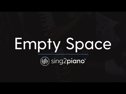 Empty Space (Piano Karaoke Instrumental) James Arthur